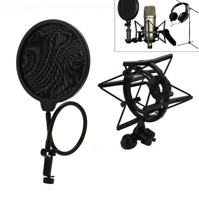 Universal Spider Microphone Shock Mount Holder Clip Anti Vibration Record ZKY