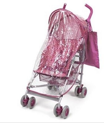Hood/raincover and Bag Accessory Pack For Pushchair/buggy