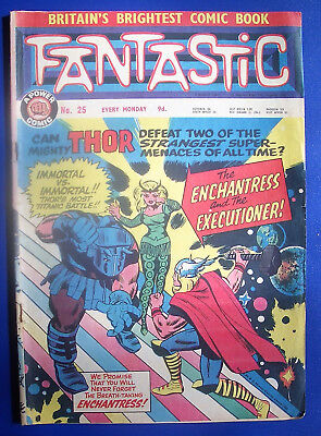 Fantastic comics, 8 issues from 1967, nos 25, 26, 27, 28, 29, 30, 31 & 32