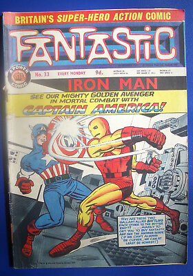 Fantastic comics, 8 issues from 1967, nos 33, 34, 35, 36, 37, 38, 39 & 40