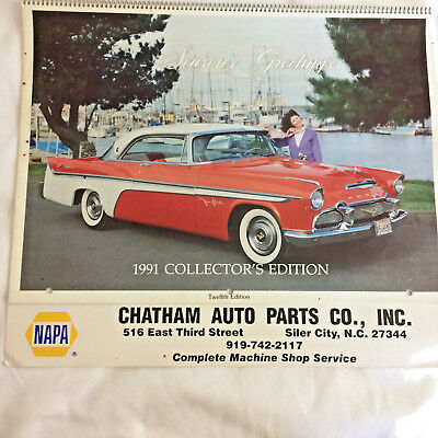 Collection Of Calendars Napa Automotive Classic Muscle Car Garage