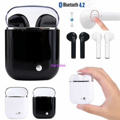 i7s TWS Wireless Bluetooth Earphone Headphone Earbuds Headset For iPhone Samsung