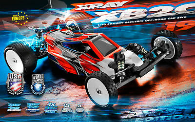 Team Xray XB2 2019 Carpet Edition 1/10th 2wd Buggy Competition Kit XR320006