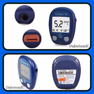 Bayer Contour TS Blood Glucose Monitor/Meter - Single Unit Meter - RRP £89.99