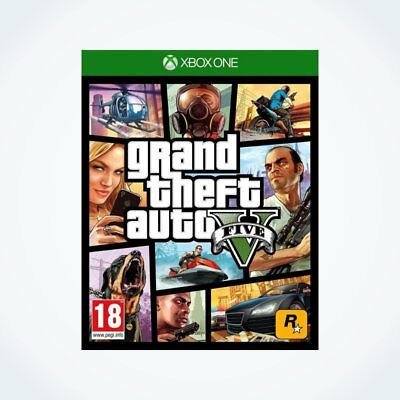GTA 5 : GRAND THEFT AUTO V sur XBOX ONE / Neuf / Sous Blister / Version FR