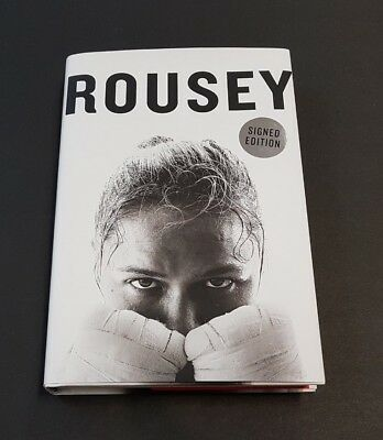 💥 Ronda Rousey Autographed My Fight Your Fight Hardback Signed/First Edition