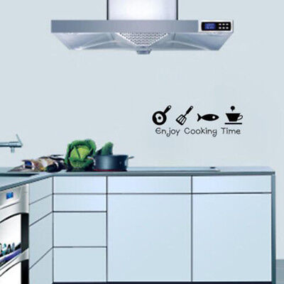 Coffee Cup Laundry Room Kitchen Wall Stickers Decoration Vinyl Art Wall Decals