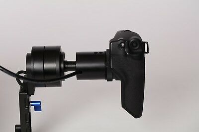 Letus Helix Grip Relocator for Canon C100 C300 & Wooden Camera Relocator