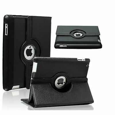 Leather 360 Degree Rotating Smart Stand Case Cover For APPLE iPad 3 A1416/A1430
