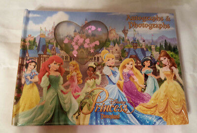 Disney Parks Disneyland Princess Autograph and Photograph Book NEW In Package