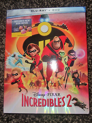 Incredibles 2 Blu-Ray + DVD (Digital included)