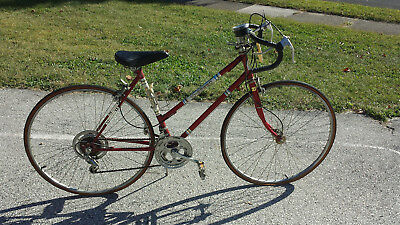 Vintage Bike Kent Red 10 Speed Womens Girls Bicycle 1980s - PICK UP ONLY