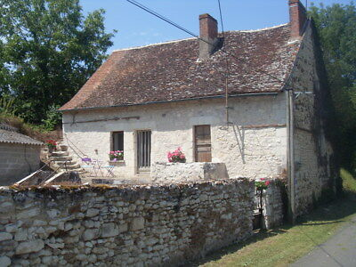 Traditional Stone Farm House In Rural France