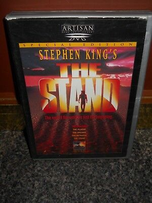 Stephen King's 1994 TV Movie THE STAND Special Edition 2 Disc DVD Set *Free Ship