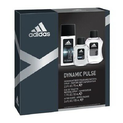 Adidas Dynamic Pulse Cologne For Men 34 Oz Edt 33 Spray New In Box