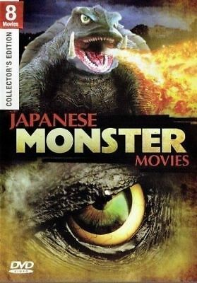8 Movies- Japanese Monster- Gammera Vs.- Monster X & Others- Dvd