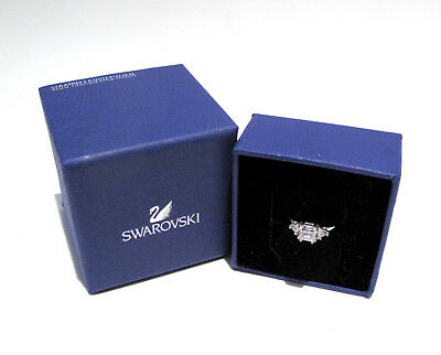 1f2f20510 Swarovski Attract Trilogy Ring Size 58/8L 5402447 Bargain Crystal Jewelry  Boxed