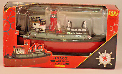ERTL Texaco The American Tugboat Bank - 2002 - Limited Edition #20563P - Mint