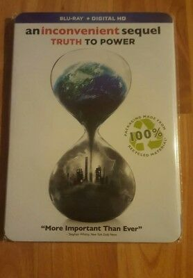 AN INCONVENIENT SEQUEL TRUTH TO POWER (blu-ray+digital hd) new factory sealed