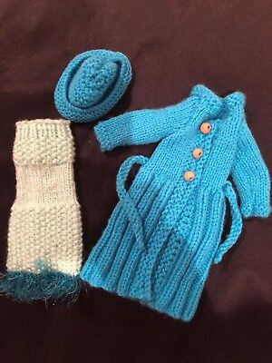 Hand knitted Barbie clothing #18