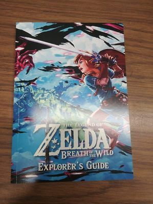Explorers Guide Legend of Zelda: Breath of the Wild Nintendo Switch (Book Only)