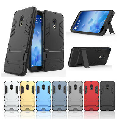 For Meizu 15/15 Plus M6s M6T M5 M6 Note Shockproof Hybrid Armor Stand Case Cover