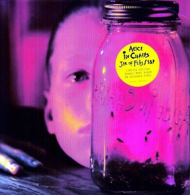 Alice In Chains Jar Of Flies/Sap 180gm Vinyl 2 LP NEW sealed
