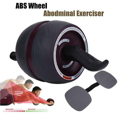 Fitness Ab Carver Pro Exercise Wheel Roller Six Pack Abs Workout Gym Heavy Duty