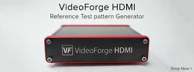 Spectracal VideoForge HDMI (Second Version) Used with Warranty