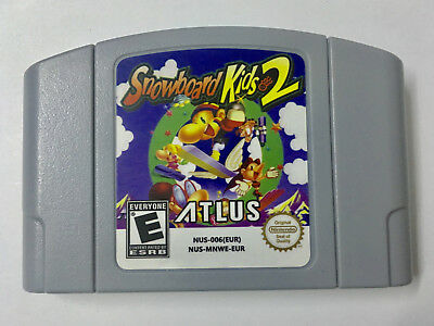 Snowboard Kids 2 für Nintendo N64 EUR PAL Version