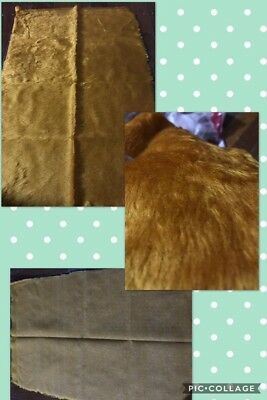 Fat 1/4 Faux Fur. -Ginger