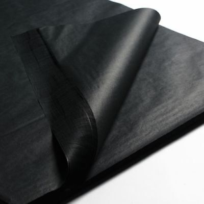 Black Acid Free Tissue Wrapping Paper Size 450 X 700Mm 18 X 28""