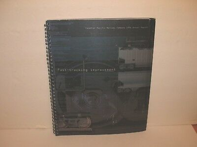 Canadian Pacific Railway Railroad 1996 Annual Report
