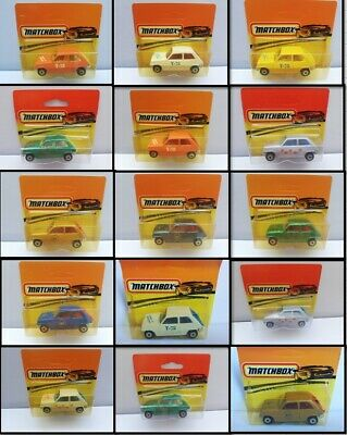 MATCHBOX SUPERFAST, RENAULT 5TL, BULGARIAN, 1978, Multiple Listing, Diecast
