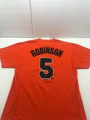 3d2f5209f Brooks Robinson Baltimore Orioles  5 Jersey T-shirt Adult Sz. Large by  Majestic
