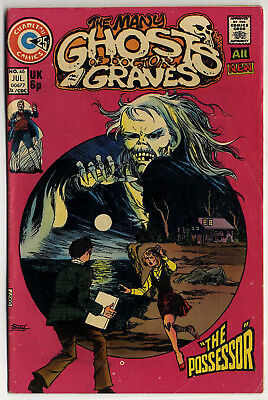 Many Ghosts of Doctor Graves #46 (1974 fn 6.0) Rudy Palais, Sanho Kim & PAM art