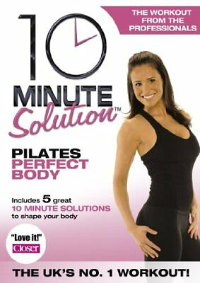 10 Minute Solution - Pilates Perfect Body  New (DVD  2008)