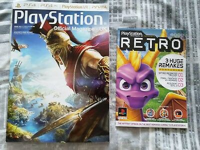 PlayStation Official Magazine #153 October 2018 + Retro book (RE2 Spyro FF7)