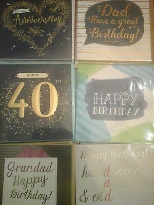 28 Stunning Cards, Wholesale Joblot Greeting Cards