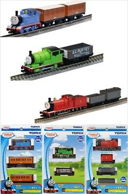 Tomix 93810 93811 93812 Thomas & Friends Thomas & Percy & James Set N Scale F/S