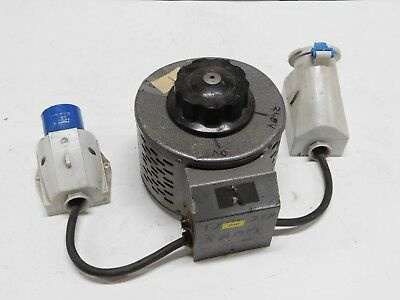 British Electric Rotary Regavolt type 73A 240V 8Amps 0-275v