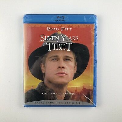 Seven Years In Tibet (Blu-ray, 2007) *US Import Region Free* *New & Sealed*
