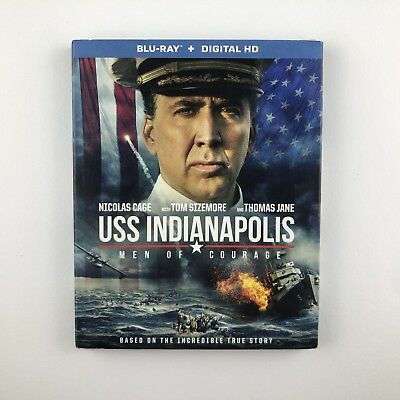 USS Indianapolis: Men Of Courage (Blu-ray, 2016) s *US Import Region A* *New*