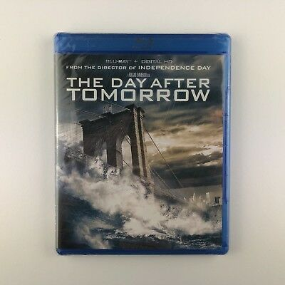 The Day After Tomorrow (Blu-ray, 2015) *US Import Region A* *New & Sealed*