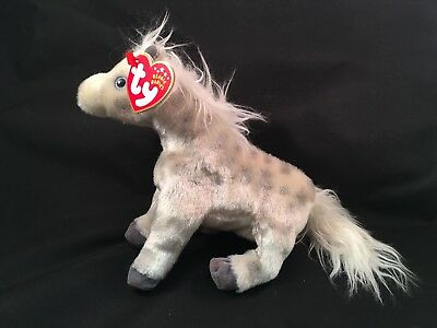 TY LIGHTNING THE HORSE BEANIE BABY - MINT with MINT TAGS -  5.95 ... fd283a7b6a3
