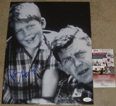 Ron Howard Authentic Signed 11x14 Photo Autographed, Andy Griffith Show, JSA COA