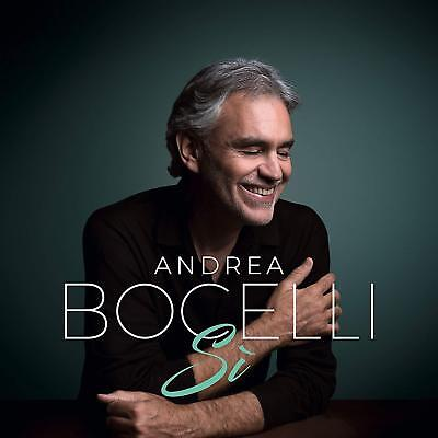 Andrea Bocelli CD 2018 Si   BRAND NEW IN HAND READY TO SHIP....FREE SHIPPING!!!