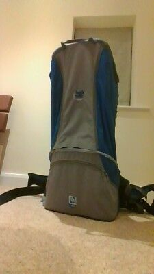 cbbc66beb39 Bush Baby Premier Baby   Child Hiking Backpack Carrier (blue and grey)