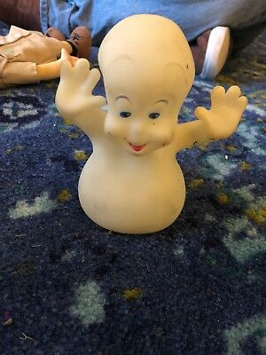 Casper The Friendly Ghost 1995 Rubber Toy Doll Used