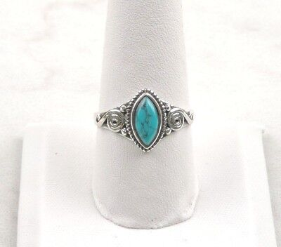 Free Gift Packaging Sterling Silver 2 ct Marquise Moonstone Ring